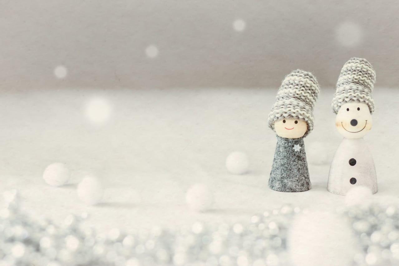 下関に初雪