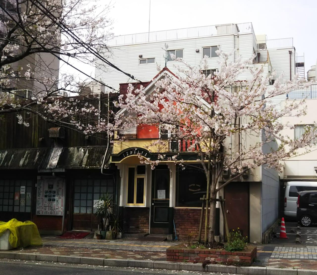 下関の居茶珈屋(いざかや)閉店