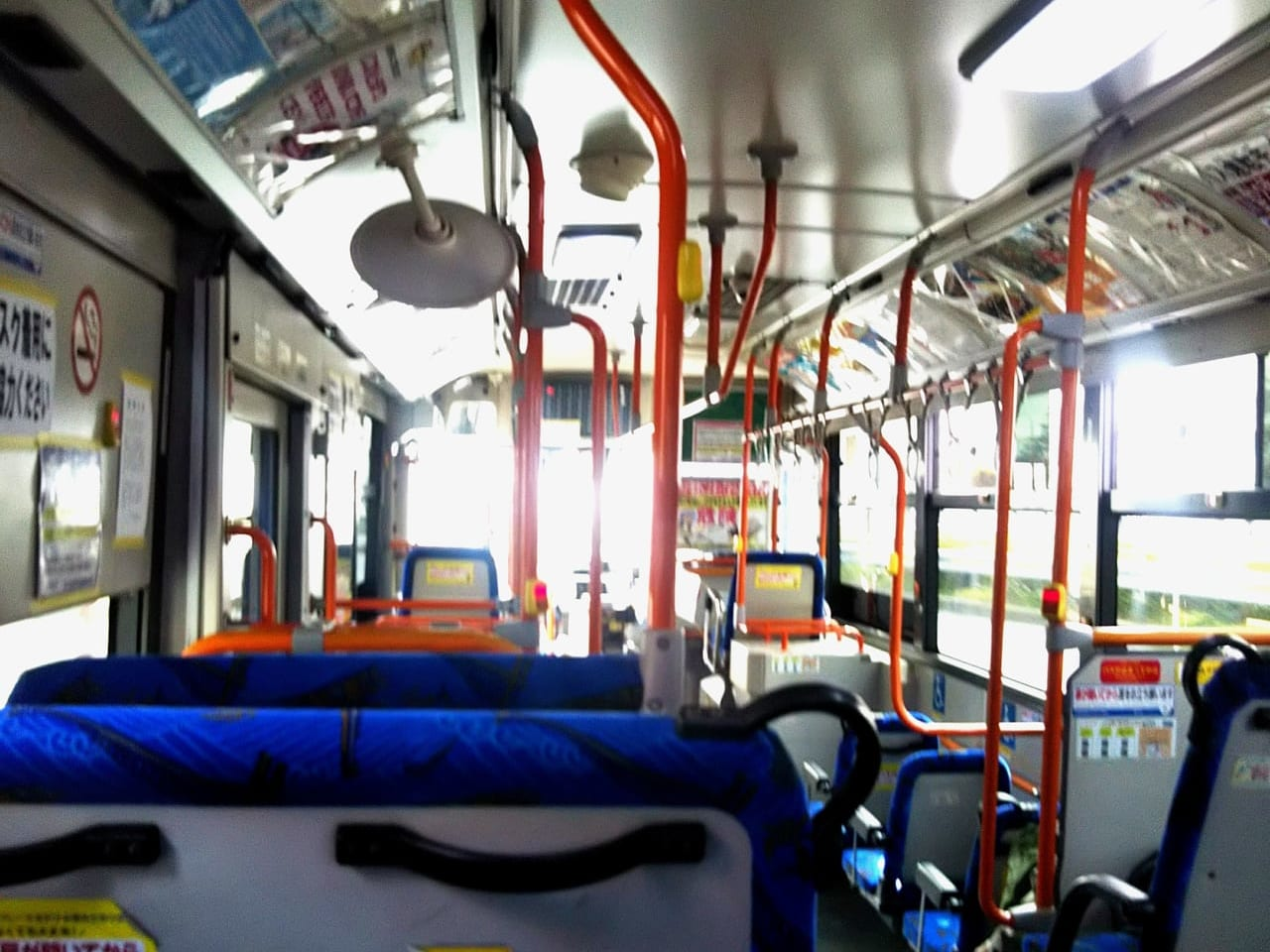 サンデンバス車内